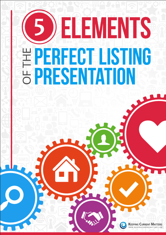 5 Elements to the Perfect Listing Presentation - Free E-book, Click Here!